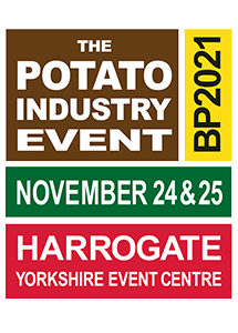 BP2021 Visitor Website for The British Potato Industry Event Exhibition at the Yorkshire Event Centre Harrogate - November 24th - 25th 2021